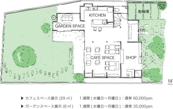 松庵文庫 1F PLAN